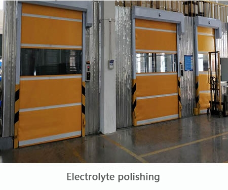 Electrolyte polishing