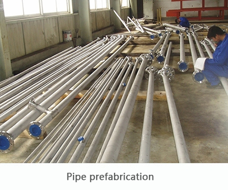 Pipeline  Prefabrication
