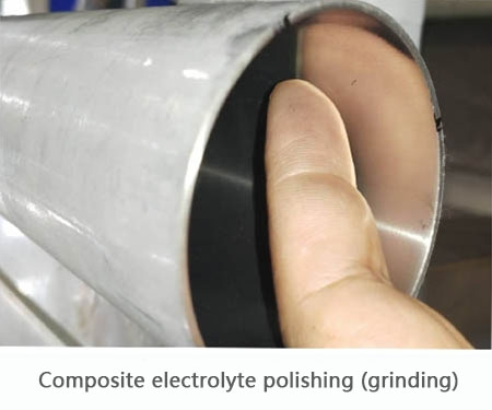 Composite electrolyte polishing (grinding)