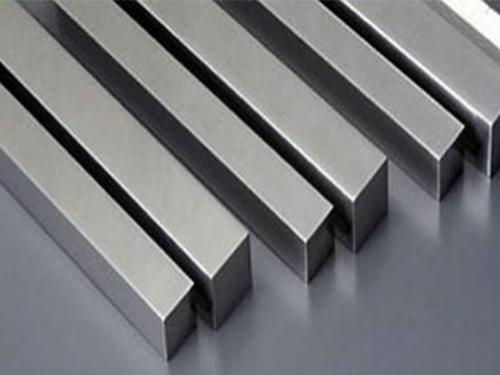 Stainless steel precision square rod.